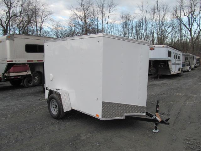 2018 Cargo Express EX DLX 5 X 8 Enclosed Trailer