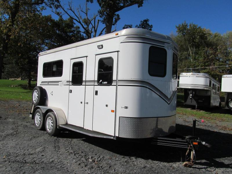 2012 Kingston Bedford 2H w/ DR Horse Trailer