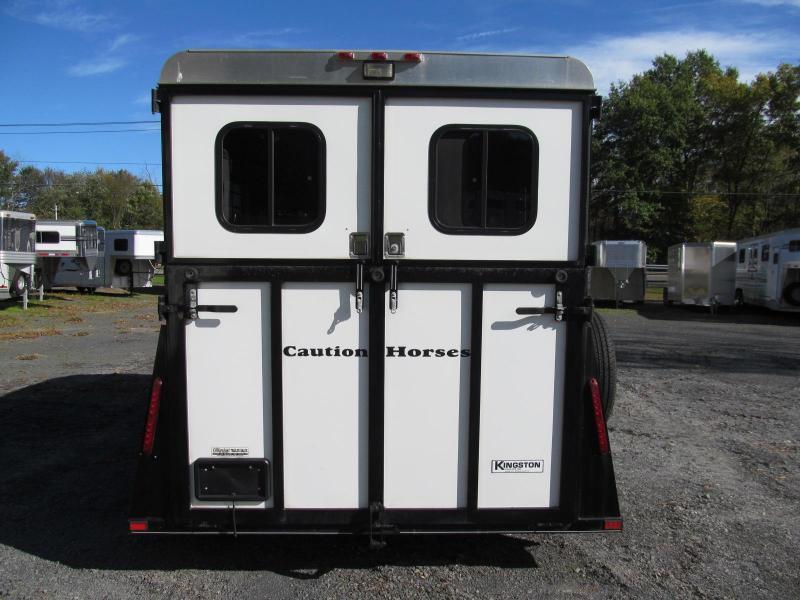 2012 Kingston Bedford 2H w/ DR Horse Trailer