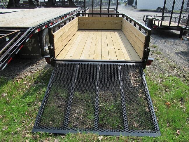Sure-Trac 3-Board High Side Utility Trailer