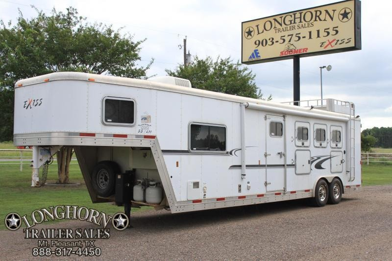 2006 Exiss 4 Horse 10 Ft Lq  w/ Generator