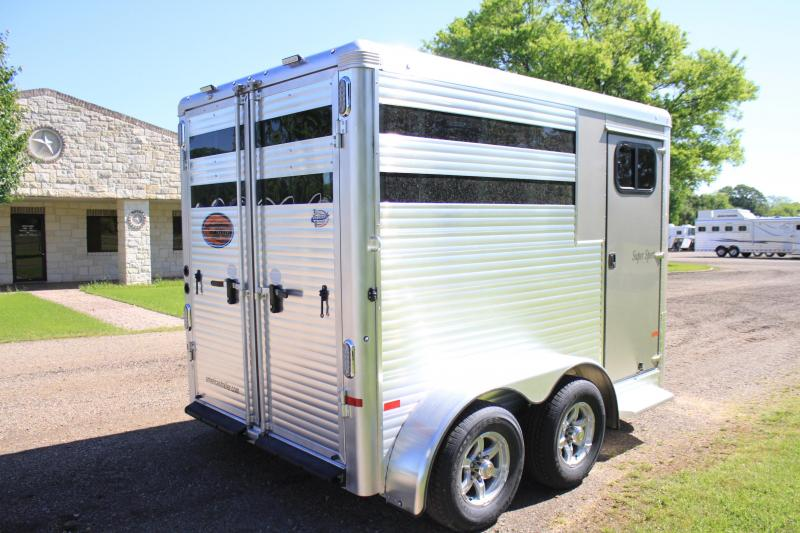 2019 Sundower 2 Horse Bumper Pull with Front Tack Room