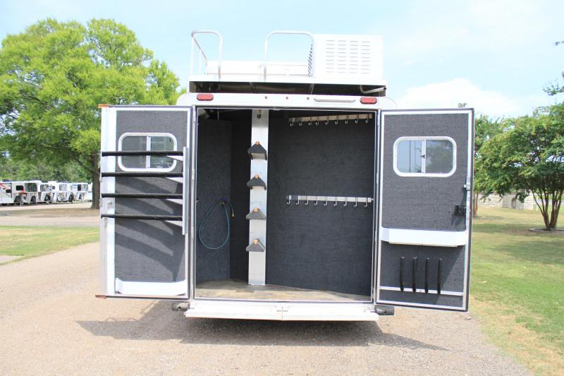 "2017 Elite  4 horse 12'8"" ft  Lq / Side Load"
