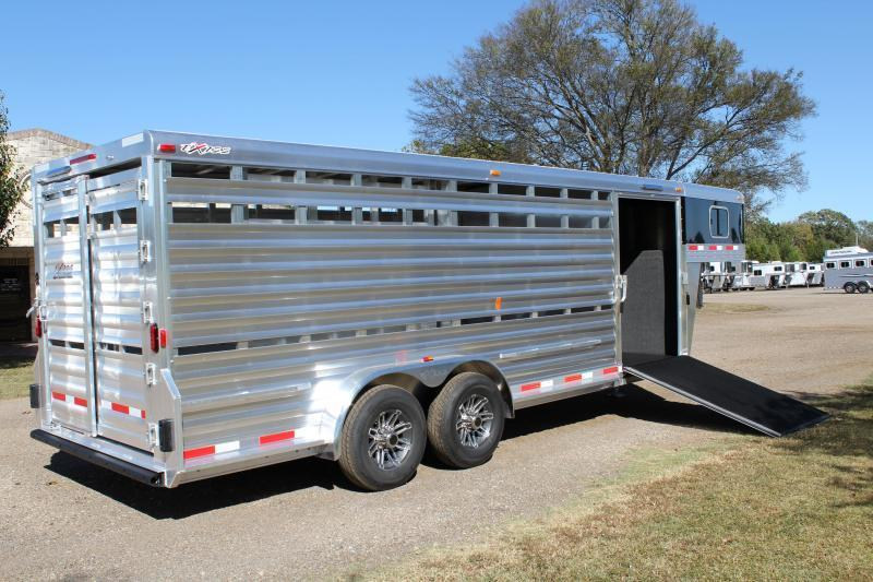 2018 Exiss Trailers 21' Show Cattle Combo with 5ft Tack Room