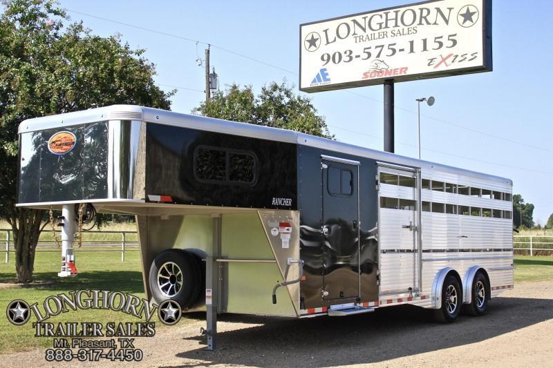2018 Sundowner 24' Show Cattle 8 Wide with Spread Axle