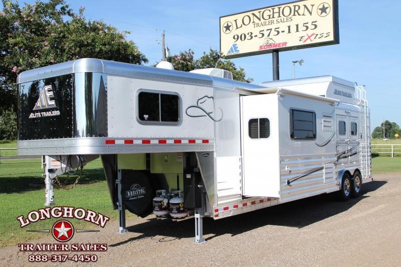 2020 Elite Trailers 3 Horse 15ft Shortwall with Slide Out Horse Trailer in Ashburn, VA