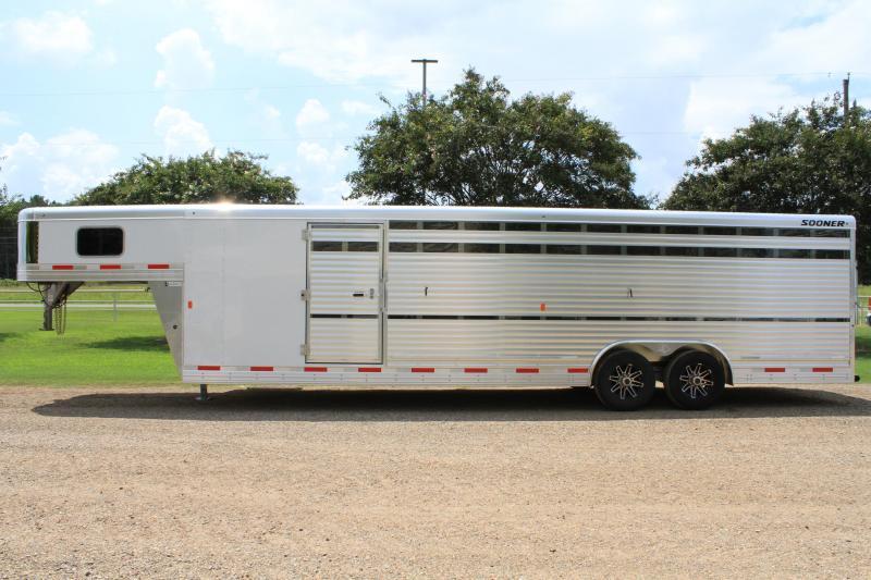 2020 Sooner 28' Show Cattle Combo w/ Side Ramp