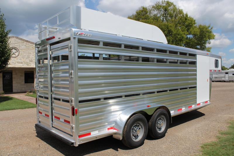 2019 Exiss 20ft Stock Combo with Hay Rack and Tack Room