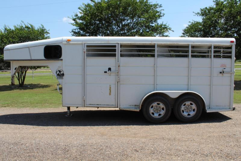 2012 Calico 3 Horse with Front Tack Room