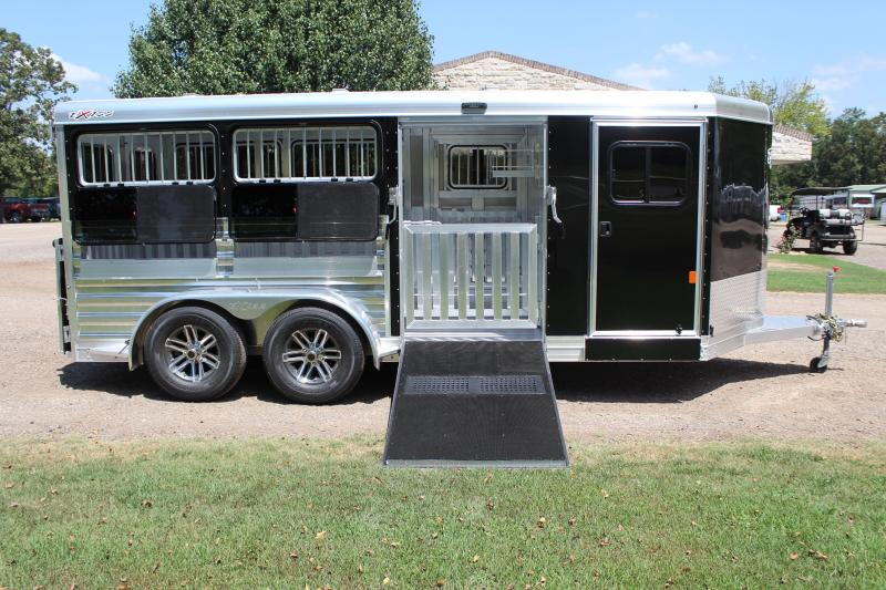 2020 Exiss 16ft Low Pro with Drop Windows and Side Ramp