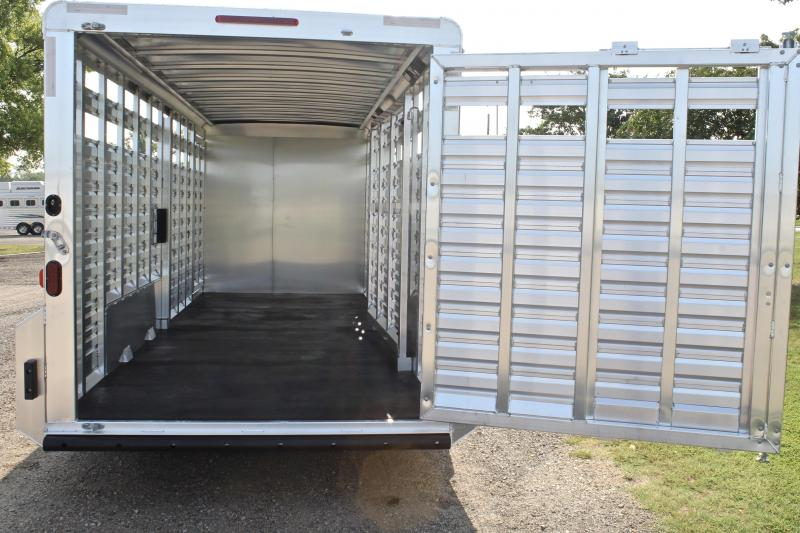 2019 Exiss 24ft Combo 7ft Tall w/ Saddle Rack