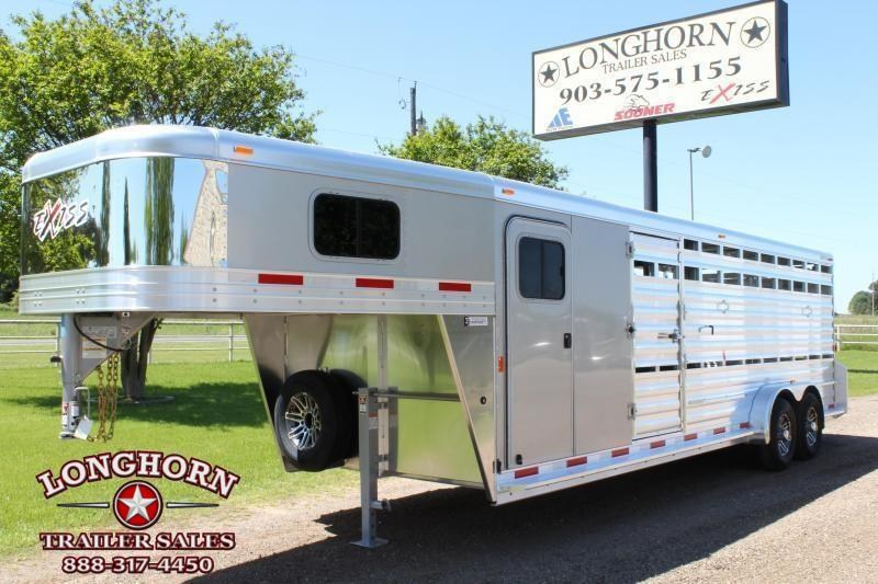 2019 Exiss 24ft Show Cattle with 6ft Tack Room and Side Ramp in Ashburn, VA