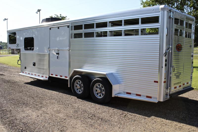 2019 Sundowner 6ft Living Quarter Show Cattle LQ with Float Gate