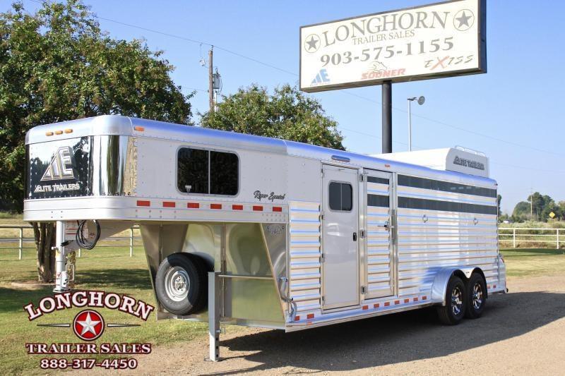 2018 Elite Roper Special 4 Horse with Double Door Tack  in Ashburn, VA