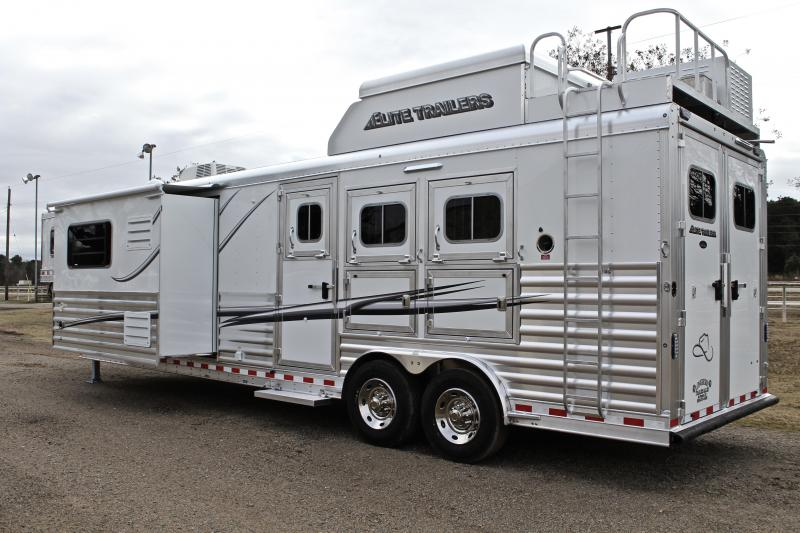 2019 Elite 3 Horse 15ft Shortwall Resistol Edition