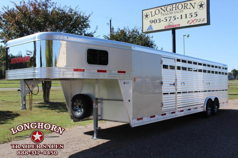 2019 Sooner 28ft x 8ft Show Cattle with Side Ramp in Ashburn, VA