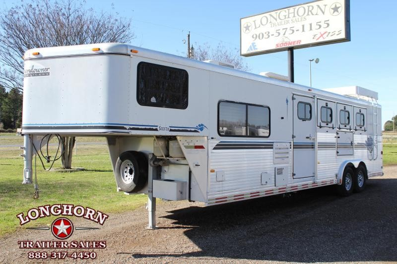 1998 Sundowner 4 Horse with 8ft Shortwall and Mangers