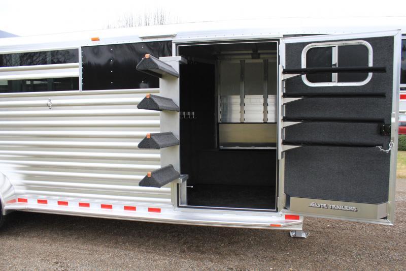 2020 Elite Roper Special by Longhorn Trailers Livestock Trailer