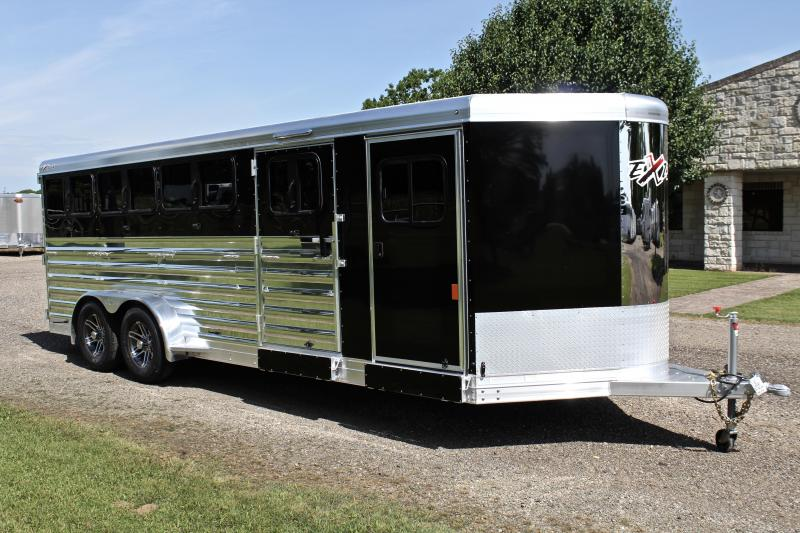 2019 Exiss 20ft Low Pro with 8 Pen System and Drop Windows