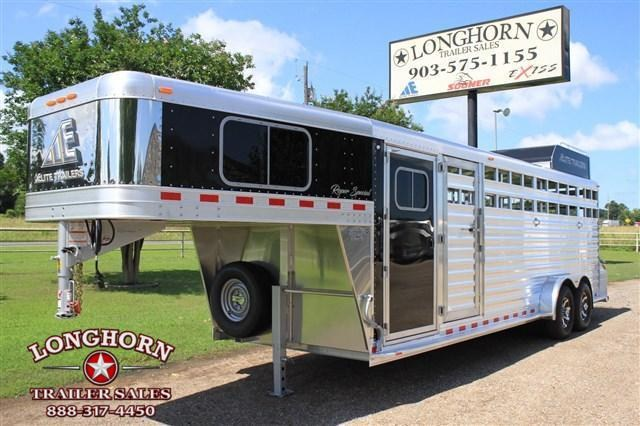 2019 Elite Trailers Roper Special with Double Saddle Racks Livestock Trailer in Ashburn, VA
