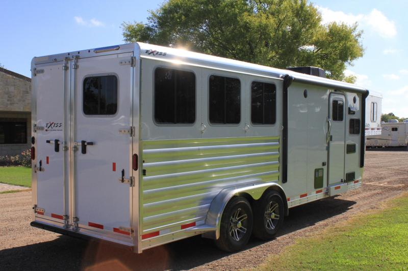 2019  Exiss 3 Horse with 8.6ft Shortwall