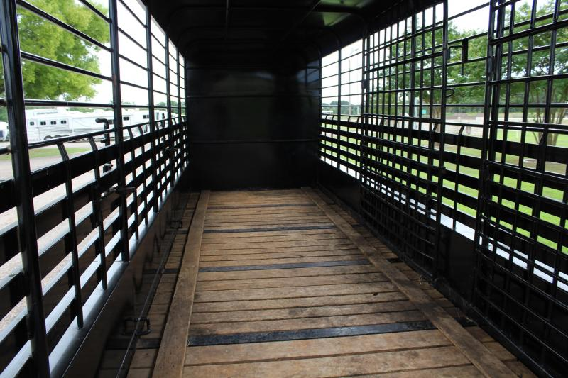 2018 Neckover 32ft Stock Combo with 6ft Tack Room Livestock Trailer