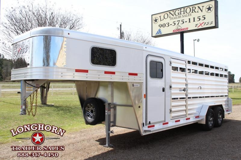 2019 Exiss 20ft Show Cattle Combo with 4ft Tack and Side Ramp in Ashburn, VA