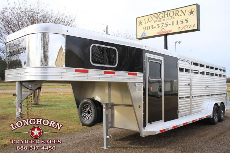 2019 Sooner 24ft Show Cattle Combo with 4 Pens and Side Ramp  in Ashburn, VA