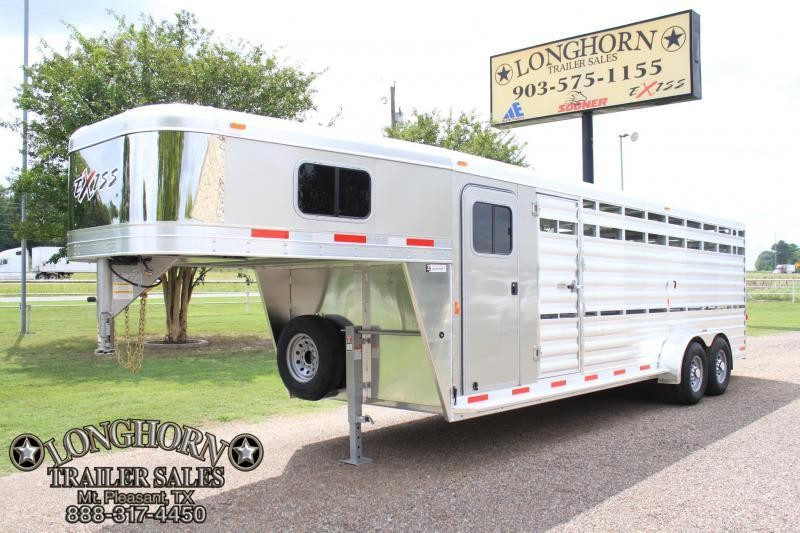 2019 Exiss 24ft Stock Combo with 4ft Tack Room  in TX