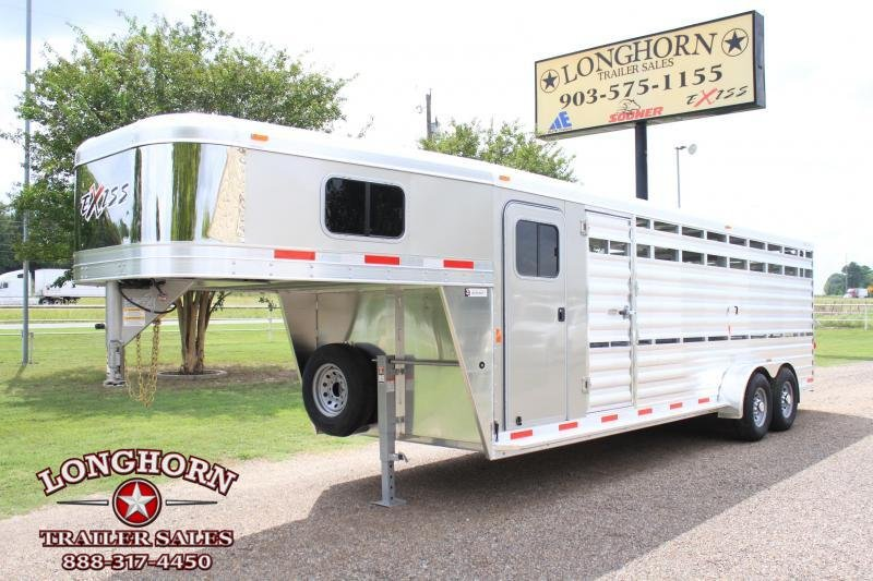 2019 Exiss 24ft Stock Combo with 4ft Tack Room  in Ashburn, VA