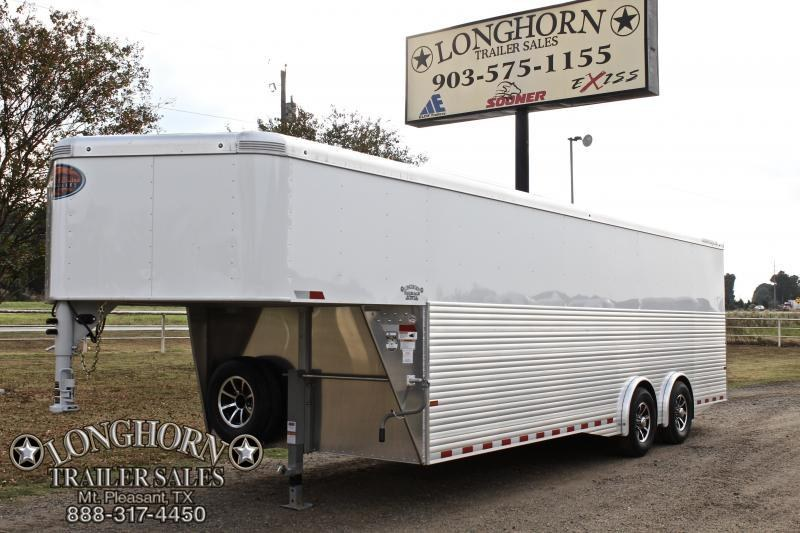 2018 Sundowner Trailers 24ft Cargo with Spread Axles with Full Rear Ramp Enclosed Cargo Trailer