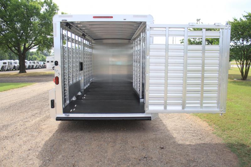 2019 Exiss 24ft Combo 7 Tall w/ Saddle Rack