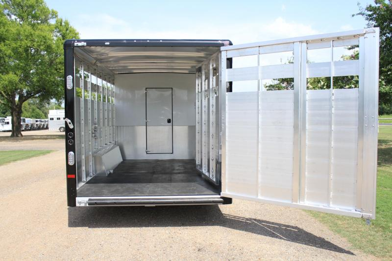 2019 Sundowner 10.5ft Shortwall Stock LQ with Midtack Stock / Stock Combo Trailer