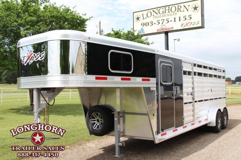 2020 Exiss 21ft Show Cattle Combo with 5ft Tack and Side Ramp