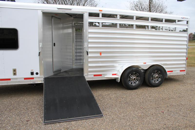 2019 Exiss Stock Combo w/ 7 Ft Lq and Side Ramp
