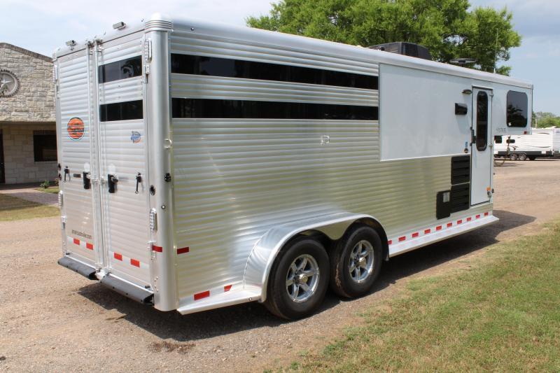 2019 Sundowner 3 Horse with 6ft Shortwall