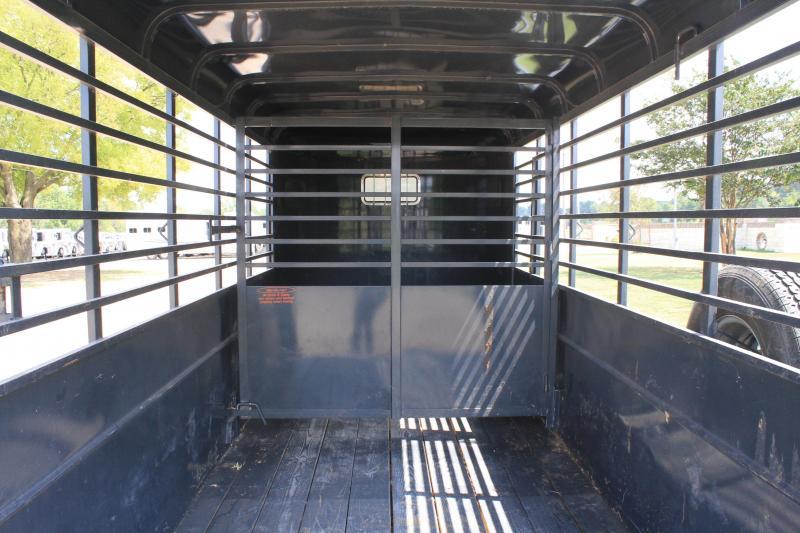 2018 Calico Trailers 6' x 16' BP Stock Livestock Trailer