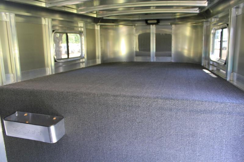 2019 Exiss 24ft Show Cattle Combo with Two Side Ramps