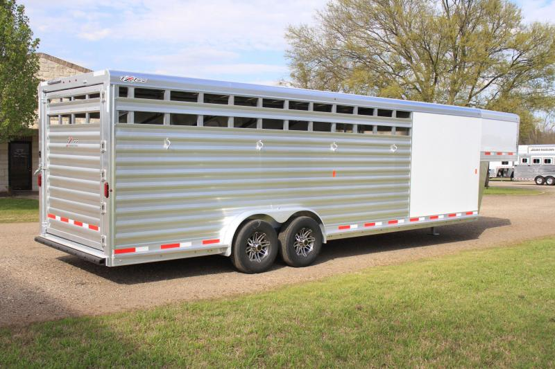 2019 Exiss  6 Horse Combo with Front Tack Room Horse Trailer