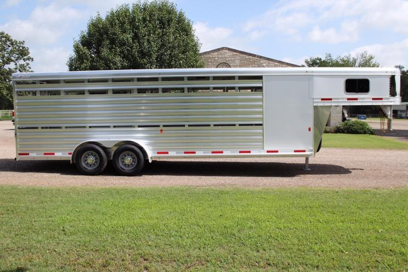 2020 Exiss 24ft Stock Combo with 4ft Tack Room