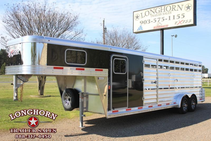 2019 Exiss 24ft Show Cattle Combo with Side Ramp in Tack  in Ashburn, VA