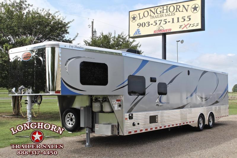 2019 Sundowner Toy Hauler with 18ft Garage and 13ft LQ