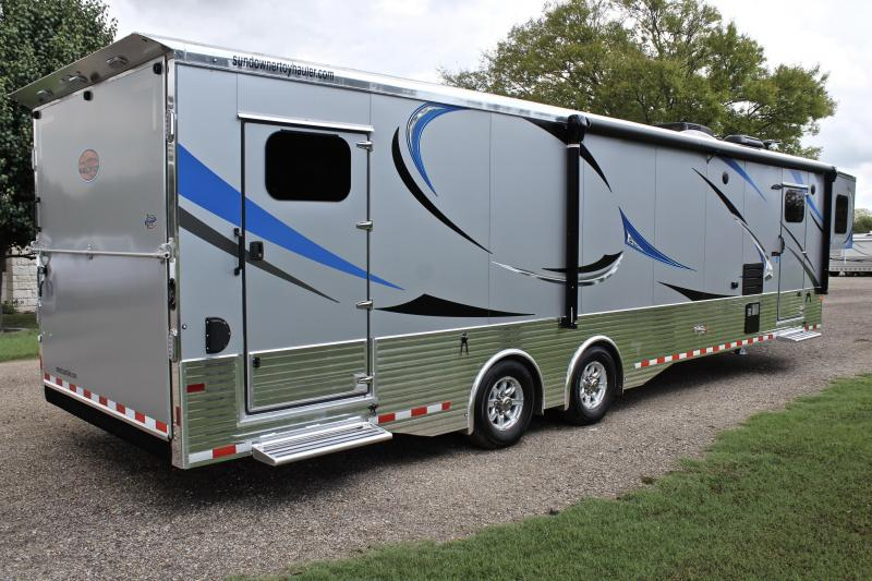 2019 Sundowner Toy Hauler with 18ft Garage and 14ft LQ