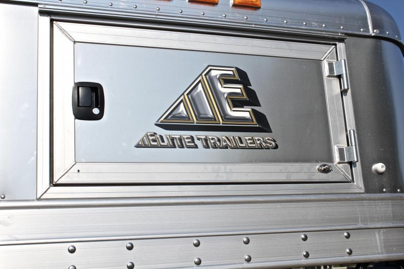 2019 Elite Trailers 36ft x 8ft Custom Stock/Combo Trailer