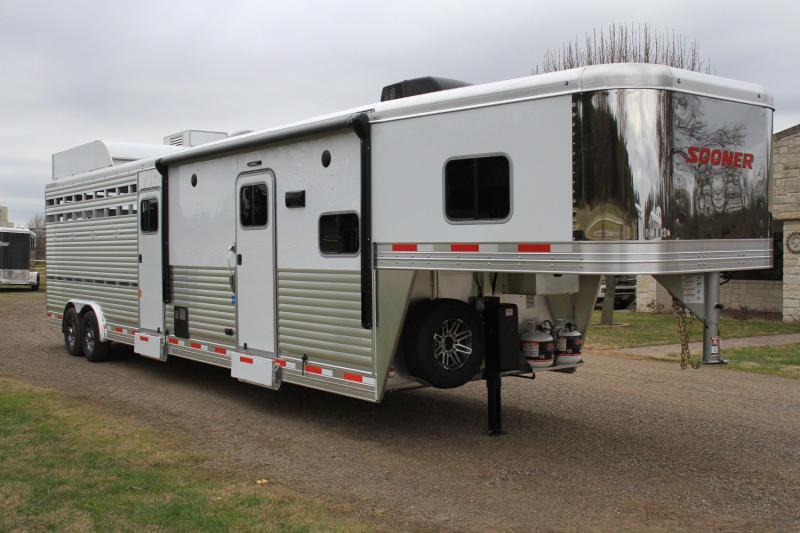 2019 Sooner 10.5ft Shortwall Stock LQ w/ Bunk & Generator