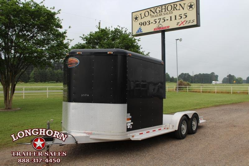 2013 Sundowner Trailers 19ft Sportman Utility with Storage Room Enclosed Cargo Trailer