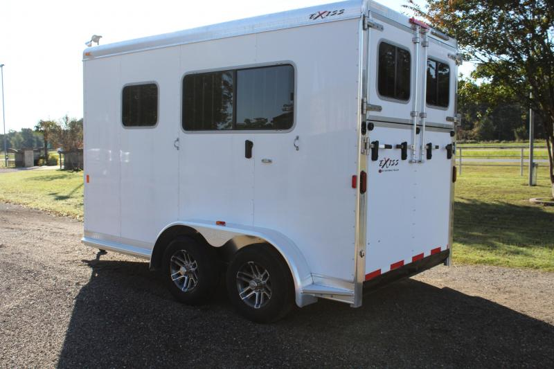 2019 Exiss 2 Horse Straight Load with Front Tack Room
