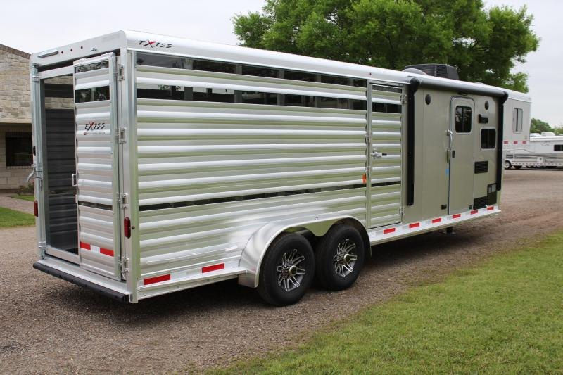 2019 Exiss Stock Combo LQ with 7ft LQ and Ramp - Show Cattle Special