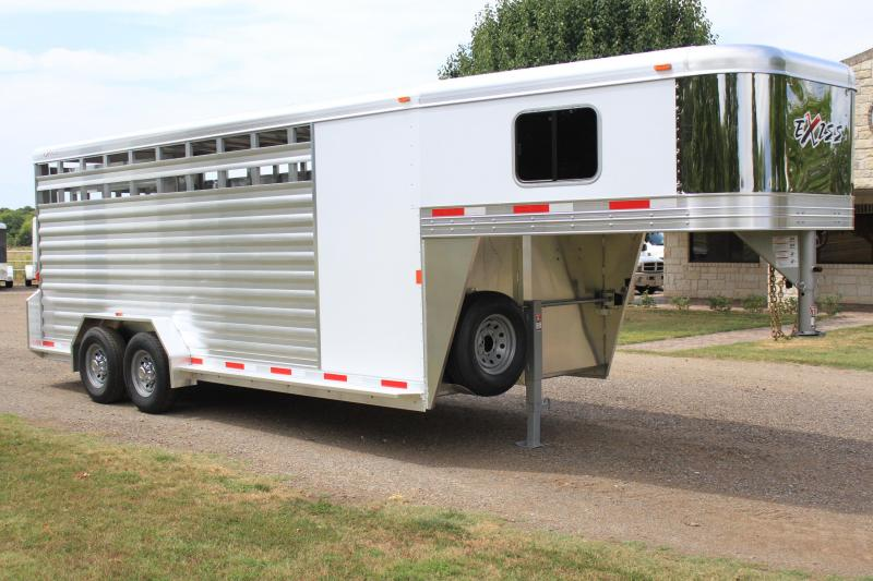 2019 Exiss20ft Stock Combo with 4ft Tack Room 7.2ft Tall