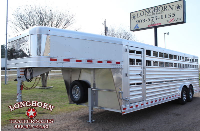 2020 Elite 24ft x 8ft Show Stock with Side Ramp